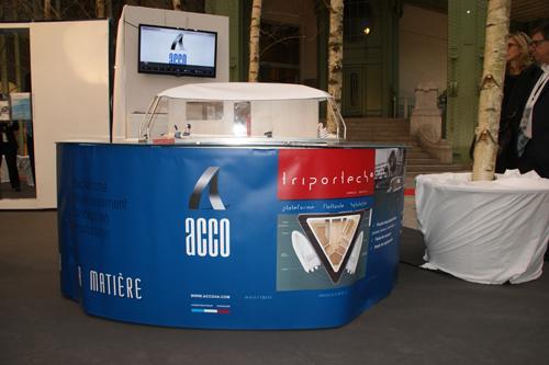 Acco expose avec les 200 bâtisseurs d'Osons la France